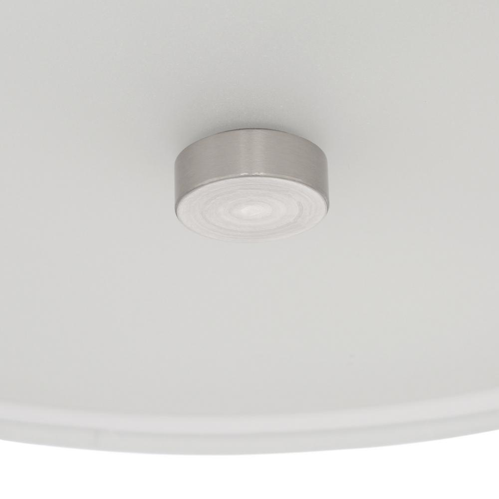 Flush mount light with an integrated diffuser