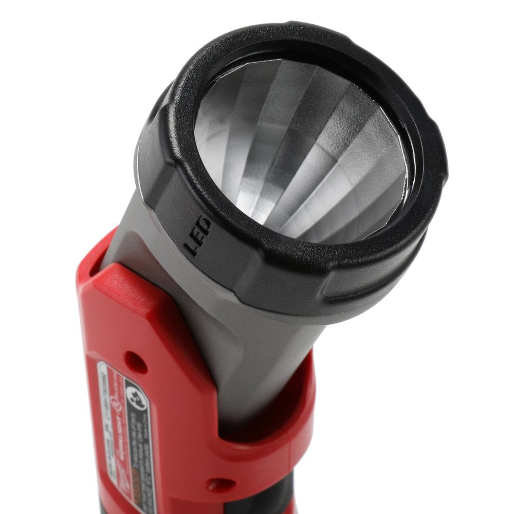 Cordless screwdriver with an integrated LED light