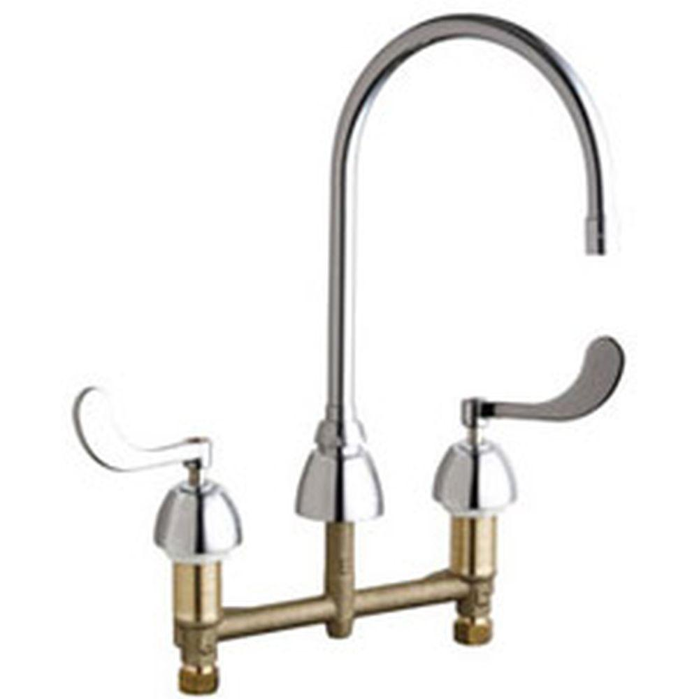 yow two handle kitchen faucets faucets kitchen widespread 2 handle high arc bathroom faucet in chrome with 8 in