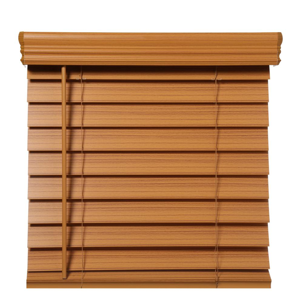 Home Decorators Collection Chestnut Cordless 2-1/2 In
